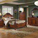 #1385 Old World bedroom 4pc set