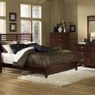 #1348 European panel bedroom 4pc set