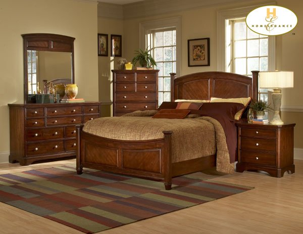 #982C Laurel Heights bedroom 4pc set