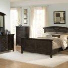 #954a Avalon oak panel bedroom 4pc set