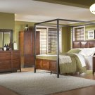 #914 Skyline Canopy bedroom 4pc set