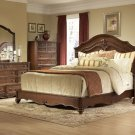 #558 Stanfordson Carved Panel Bedroom 4pc set