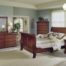 #599 Louiee Philippi sleigh Bedroom 4pc Set