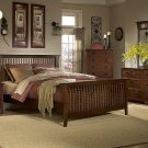 #675  Mission Oak Bedroom 4pc set