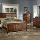 #685  Deluxe Mission Bedroom 4pc set