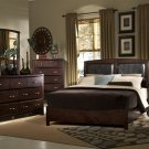 #838 Fontego sleigh bedroom 4pc set