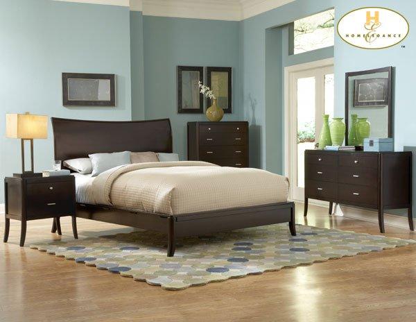 #864 Horizons Contempo Bedroom 4pc set