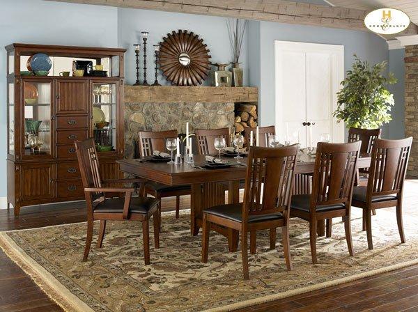 #685-96 Raymond Mission Dinning Table set