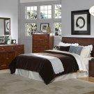 #815-1 Sleigh headboard Bedroom    4pc set