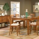 #982-36 Laurel Heights High Oak Table and barstool set