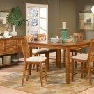 #982-36 Laurel Heights High Oak Table and barstool set