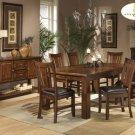 #986-78 Fusion Dark Dinning Table Set