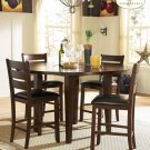 #586-82 Ameillia  High Table set with barstools