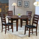 "#586-82 Ameillia 60"" Round Table set"