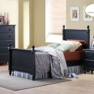#875TB Twin Pottery Collection  Black (Bed)
