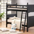 #B875  Bunkbed Pottery Collection  Black (Bed)