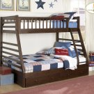 #B33FE-T Dreamland Twin/Full Bunkbed