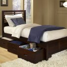 #1348PRF  Paula Collection Full bed (Trundle or Drawers)
