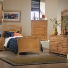 #827E Truckee collection Maple (Twin panel bed)