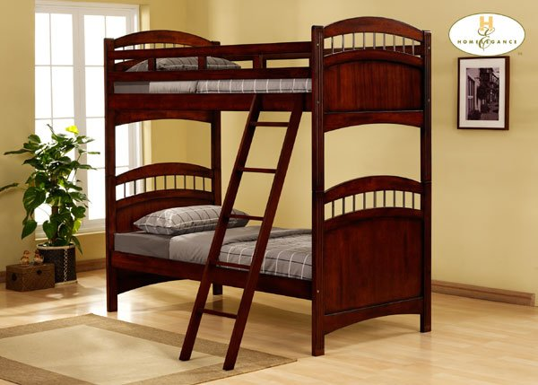 #827E Truckee collection Cherry (Twin bunkbed)