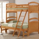 #827E Truckee collection Maple(Twin/Full bunkbed)