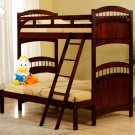 #827E Truckee collection Cherry (Twin/Full bunkbed)