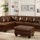 #9858BR Morgan  Sectional (Brown)