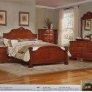 #866 Legacy Carved Bedroom set  4pc