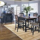 #726-36 Torino High Table set with barstools