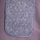 Nwt Insulated Lunch Bag Navy and White Floral Print
