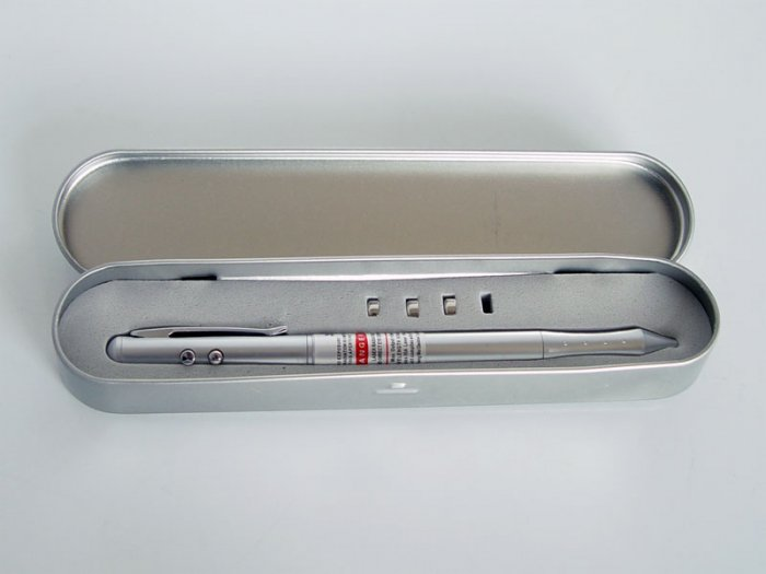 Portable Ball Pen&Flash Light &LASER Pointer &PDA Stylus