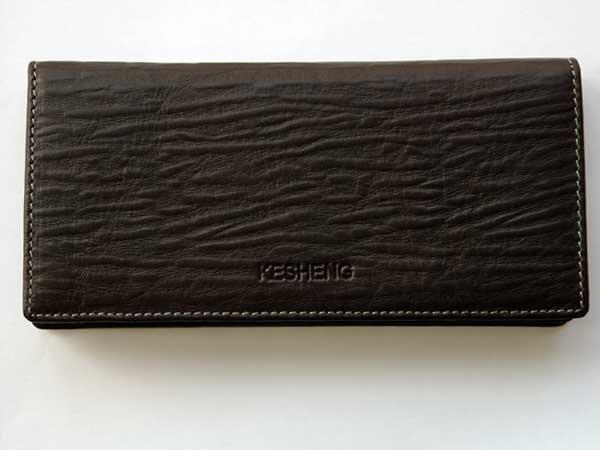 Big Innovative Checkbook/Wallet Clutch with Demagnetization-proof Design