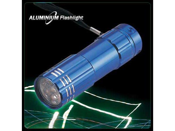 9 LEDS Aluminum LED Flashlight Super Bright
