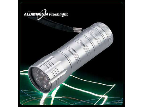 Super Bright 12 LEDS Aluminum LED Flashlight