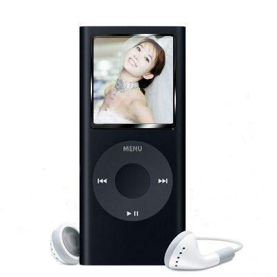 "2nd Gen 1GB 1.8"" MP3 MP4 Movie FM REC Video Photo Player Black"