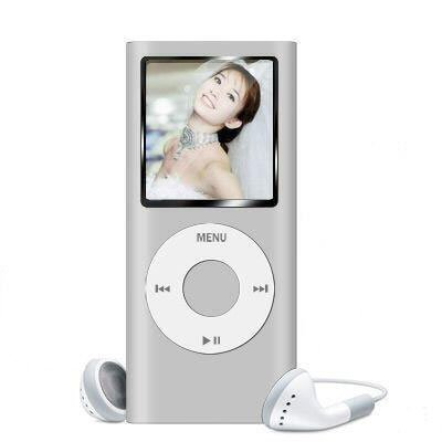 "2nd Gen 1GB 1.8"" MP3 MP4 Movie FM REC Video Photo Player Silver"