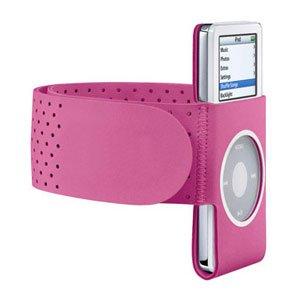 Lots 2 Pink GYM Sport Armband Wrist Strap for iPod Nano, 2nd