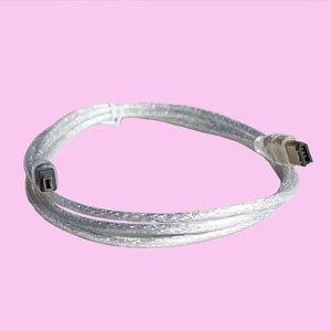 Lots of 6 5 Ft IEEE-1394 Fire Wire FireWire 6 to 4 Pin Cable