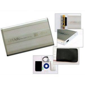 "USB 2.0 To SATA 2.5"" Aluminum External Hard Drive Enclosure Case"