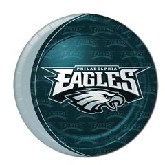 """PHILADELPHIA EAGLEs 9"""" Plates Great for the Tailgate Party...!!!"""