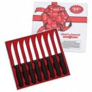 Chef's Secret® 8pc Steak Knife Set by MAXAM...???!!!