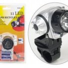 Set of Two 11-LED Head and Bicycle Lamps...???!!!