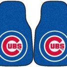 Carpet Floor Front Mats - MLB Baseball - Chicago Cubs - Pair...???!!!