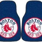 Carpet Floor Front Mats - MLB Baseball - Boston Red Sox - Pair...???!!!