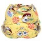 Cartoon printed Coth Diaper - Spongebob Squarepant