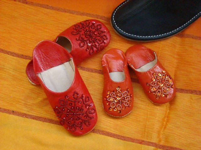 Kids Glitters Babouches