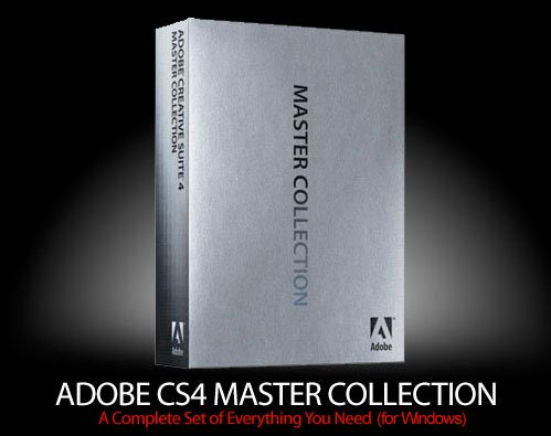 Adobe CS4 Master Collection for Windows FULL Retail
