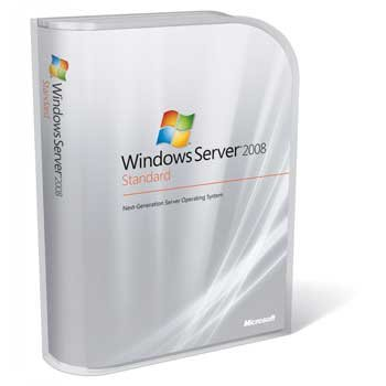 Microsoft Windows Server 2008 Standard - 5 CALs, 1 server (1-4 CPU) OEM