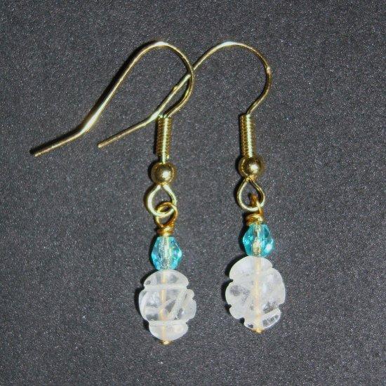 Crystal Quartz GP Earrings Type 1 Diabetes Research