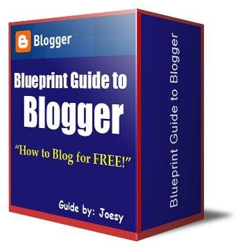 """Blueprint Guide to Blogger"""